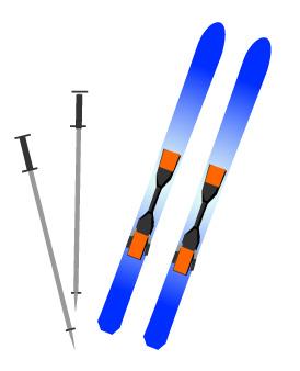 【おたすけ便での輸入事例】広州→大阪へスキー用品の輸入